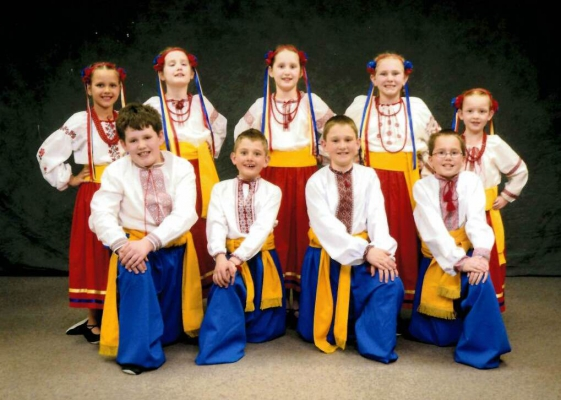 Vesna Ukrainian Dance School Youth